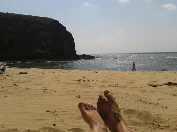 playa papagayo, lanzarote BURUTUfeet