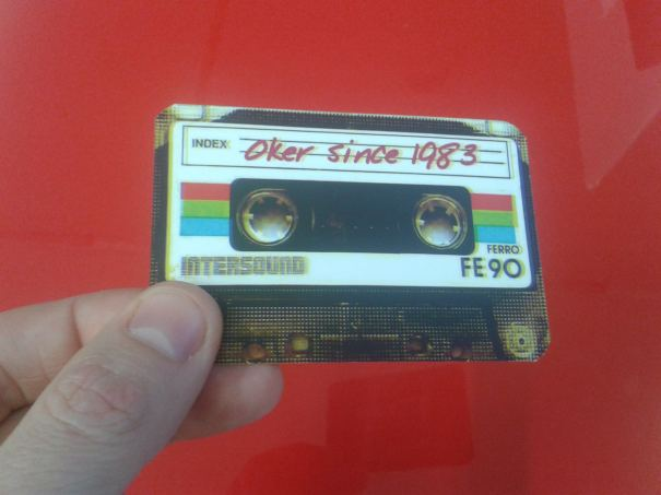 Delantera tarjeta cassette